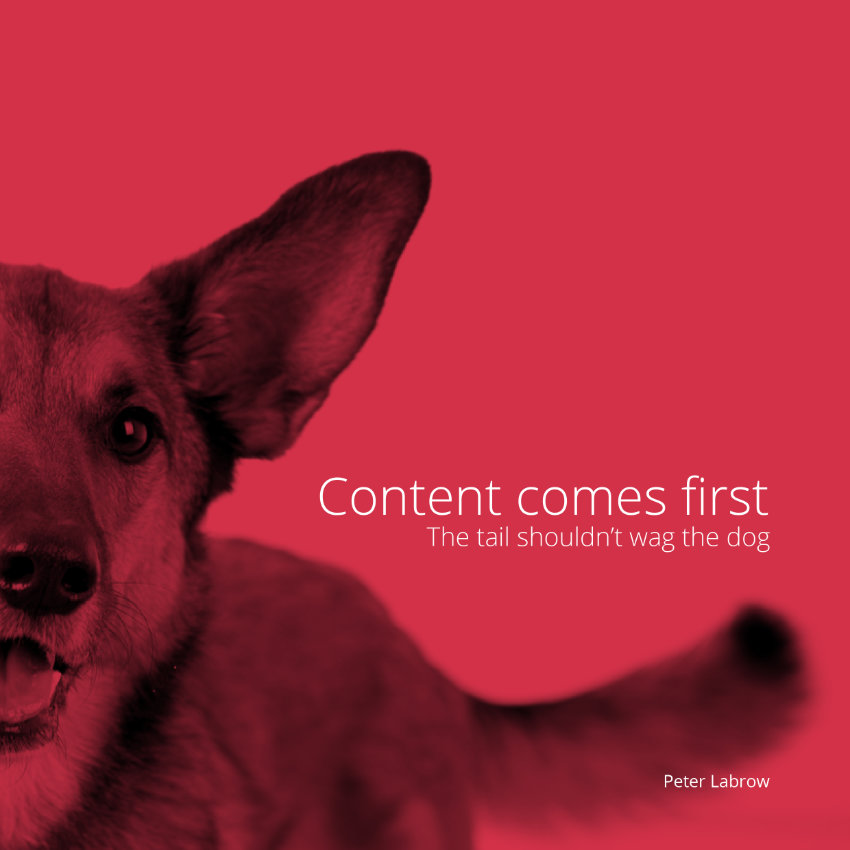 Content Comes First